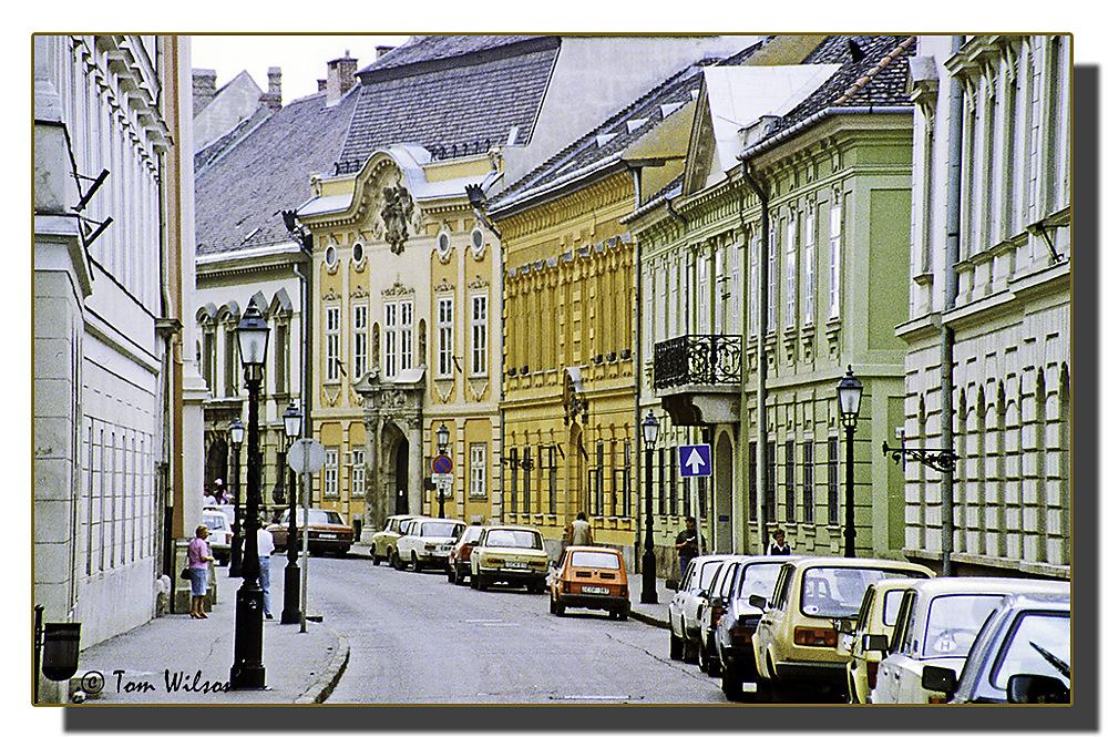 photoblog image Budapest: a street in Buda