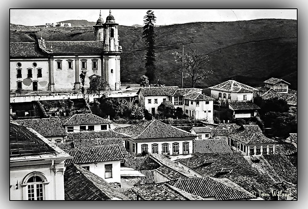 photoblog image Ouro Preto - Church of St Francis.