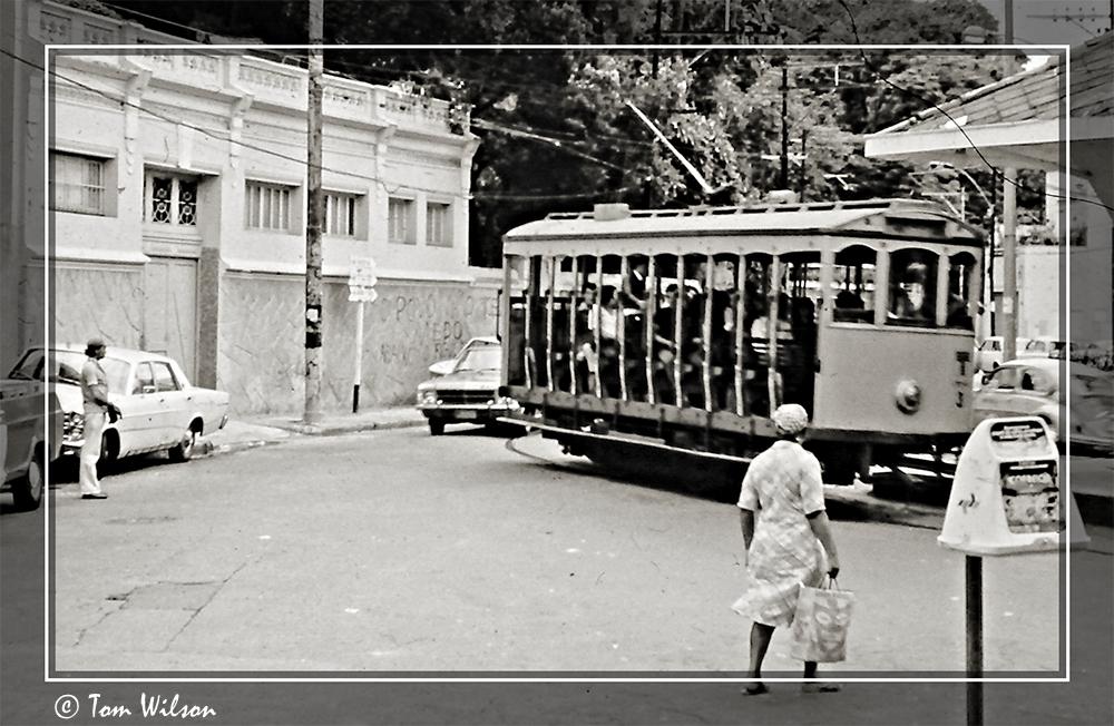 photoblog image Tram - Rio de Janeiro, 1979