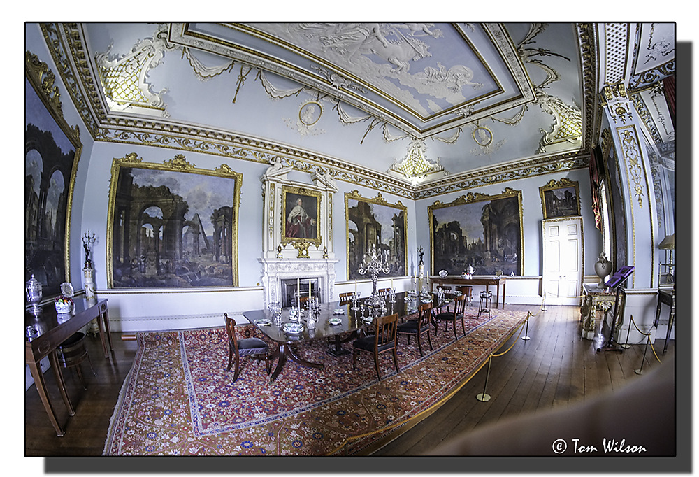 photoblog image Shugborough Hall - Dining Room