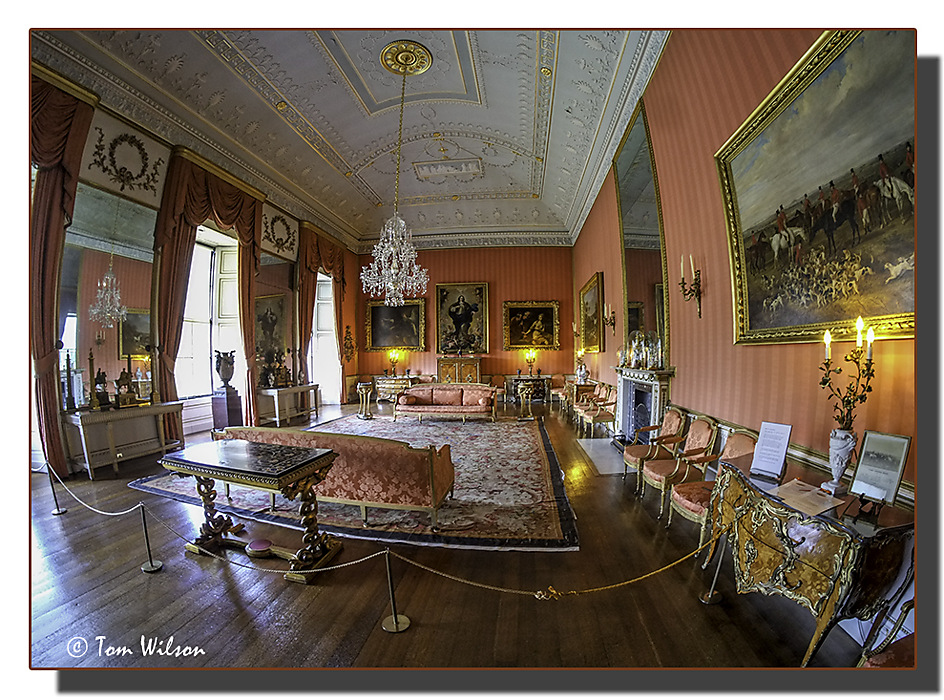 photoblog image Back to Shugborough - the Red Drawing Room