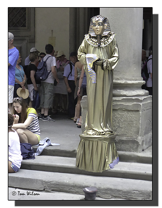 photoblog image A third living statue