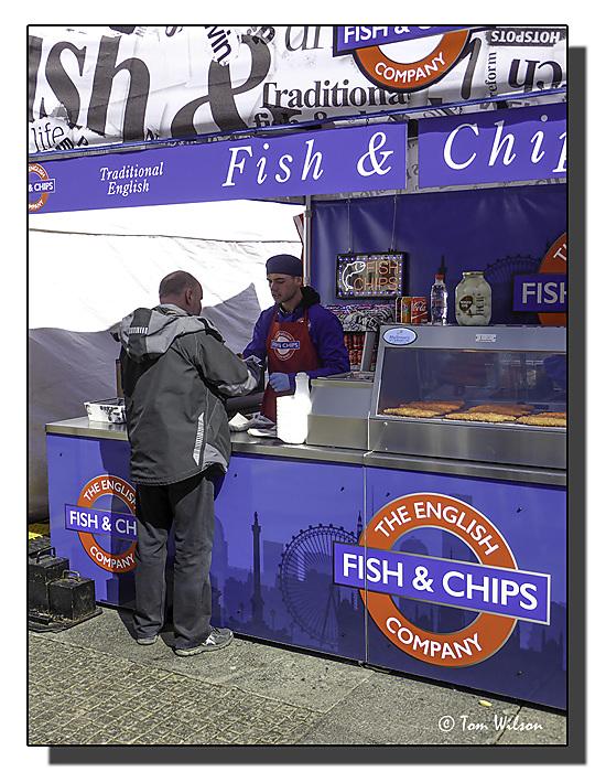 photoblog image Fish and chips