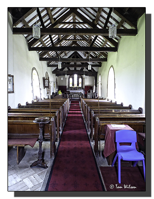photoblog image Great Orton Church, Interior