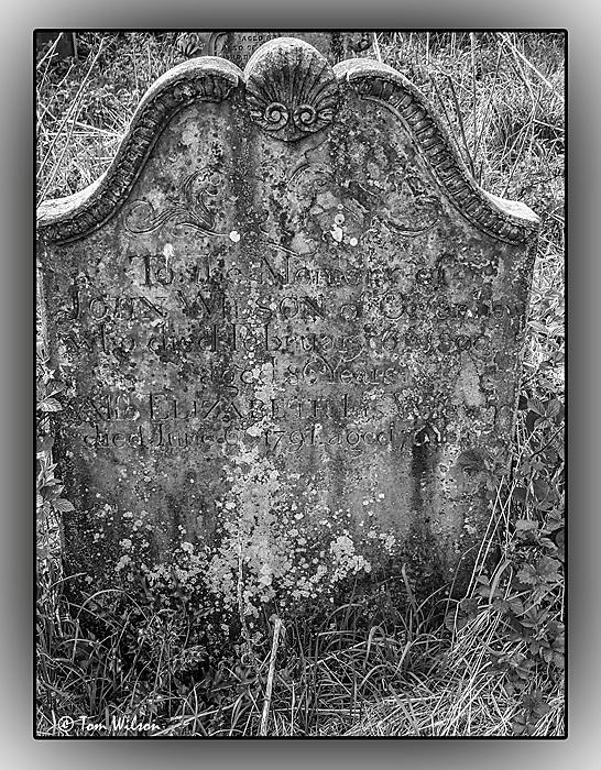 photoblog image Headstone