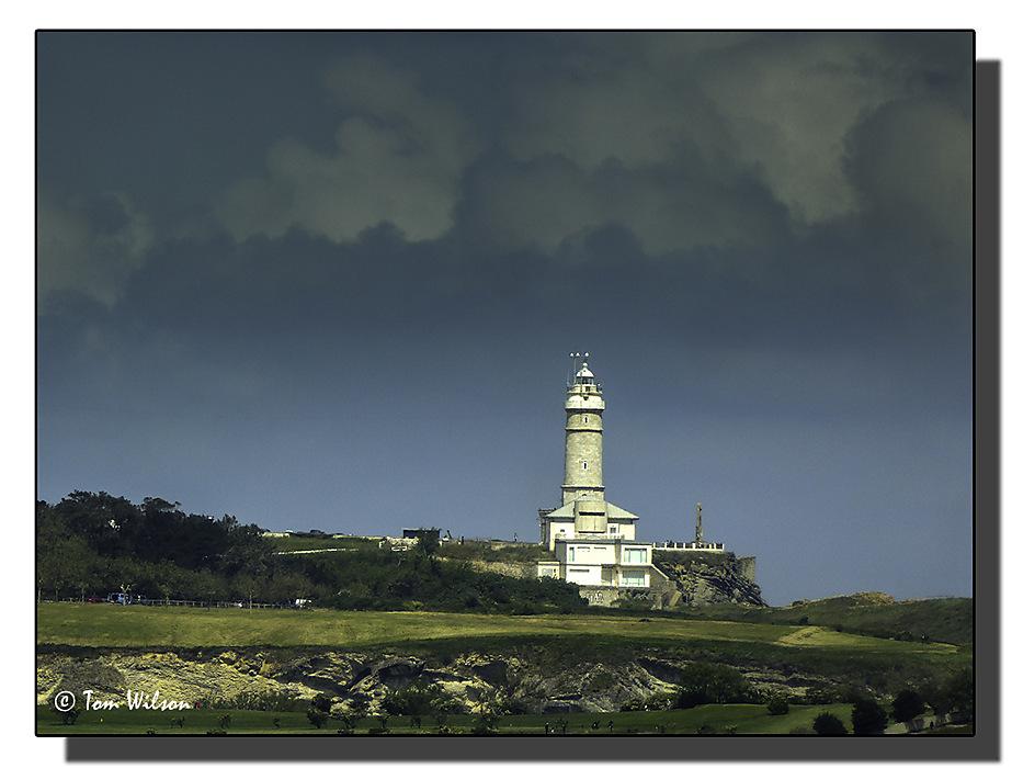 photoblog image Lighthouse at Santander