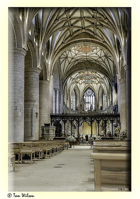 photoblog image Tewkesbury Abbey 3