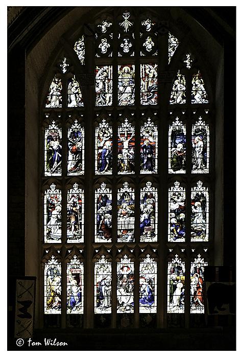 photoblog image Tewkesbury Abbey - Nave West Window