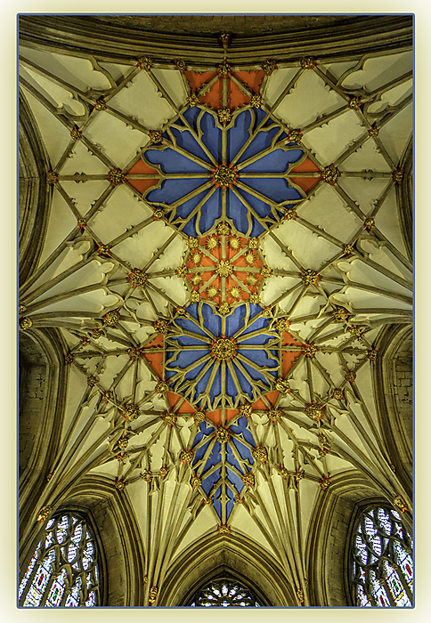 photoblog image Tewkesbury Abbey - Ceiling