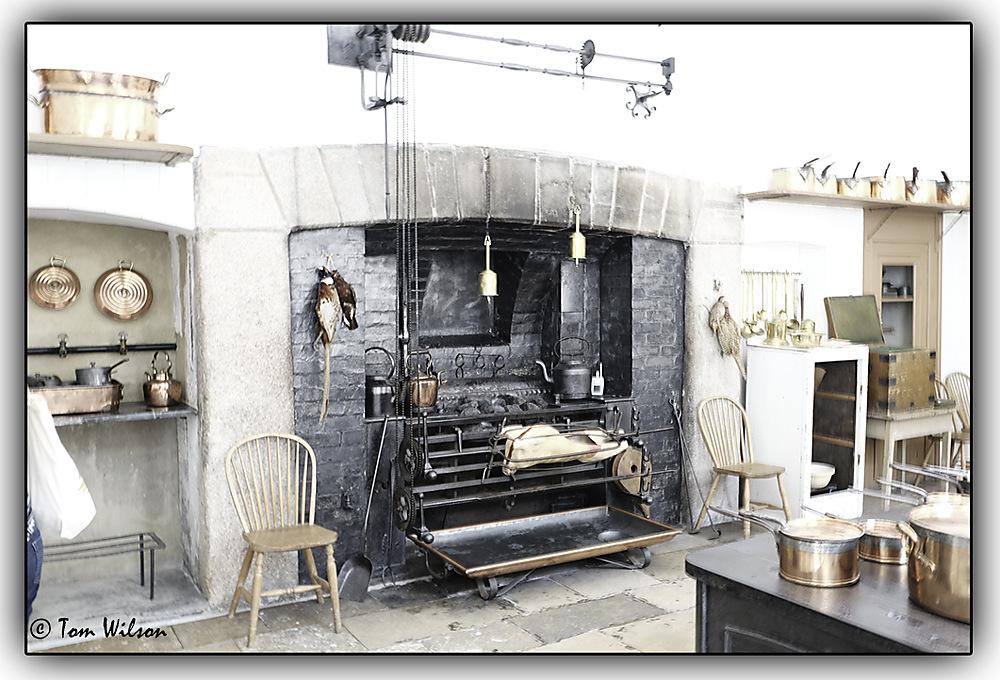 photoblog image Saltram - the kitchen