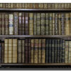 Saltram - books in the library