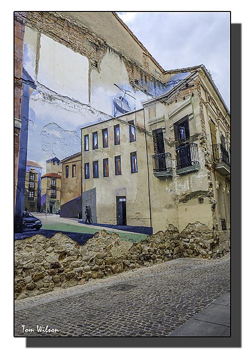 photoblog image Zamora - street art