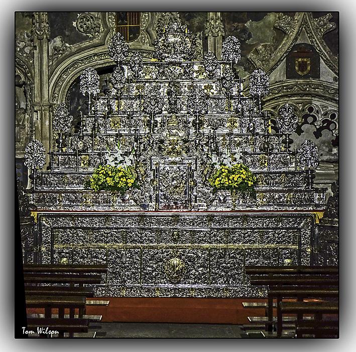 photoblog image Zamora - altar piece