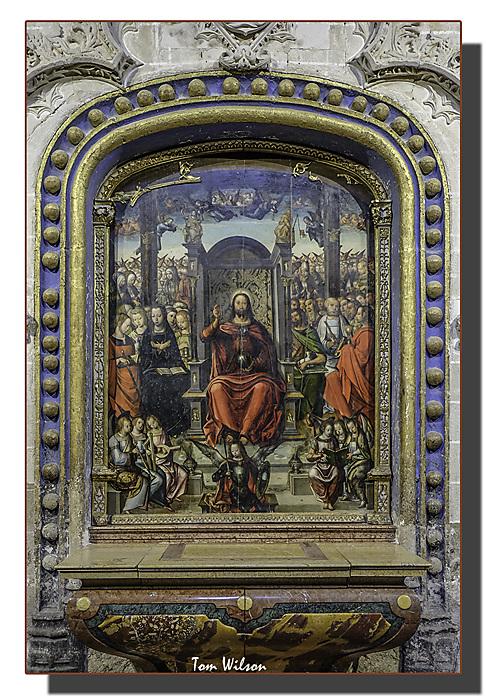 photoblog image Zamora- Cathedral, painting.