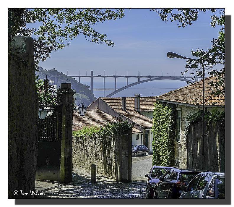 photoblog image Porto - a view of the  Arrábida bridge