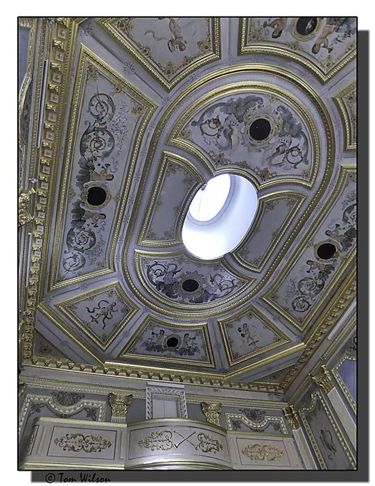 photoblog image Pousada - the lounge ceiling