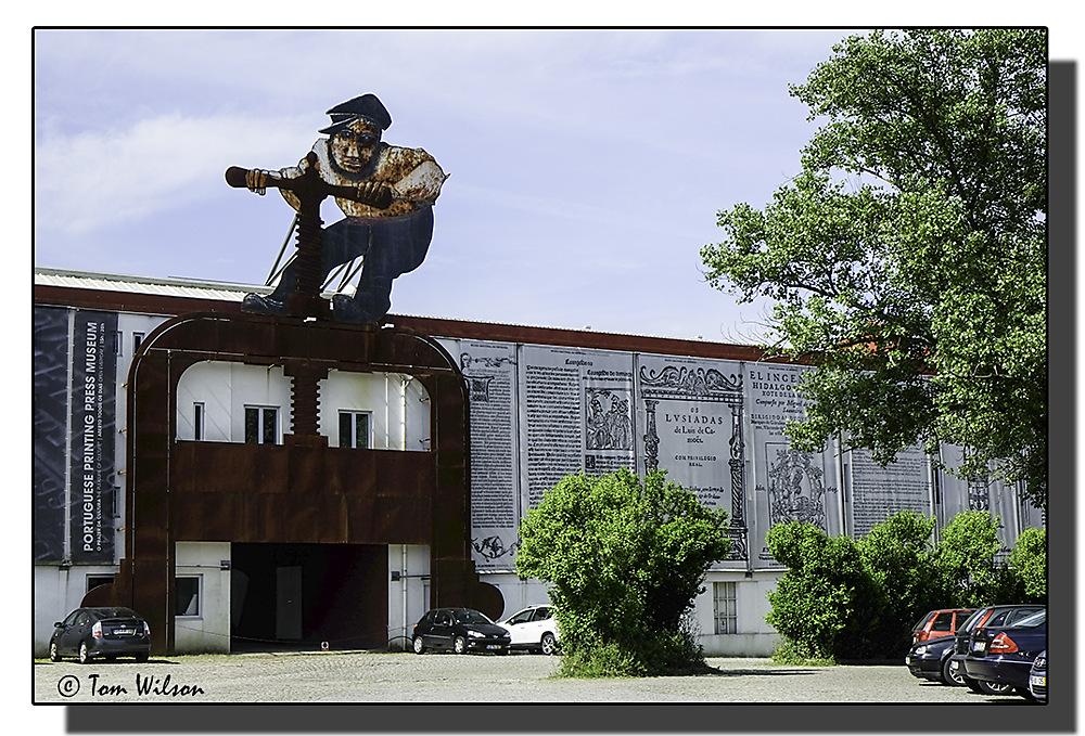 photoblog image Porto - National museum of the printing press