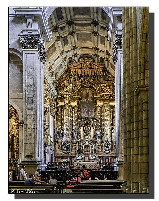 photoblog image Porto-Cathedral-altar