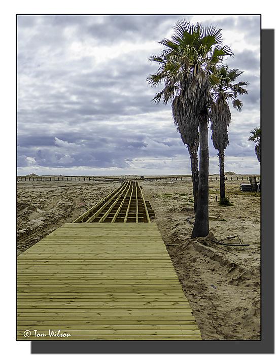 photoblog image Incomplete walkway