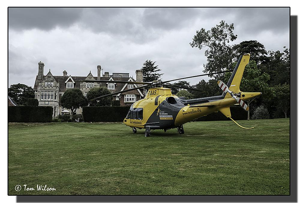 photoblog image Air Ambulance 1/3