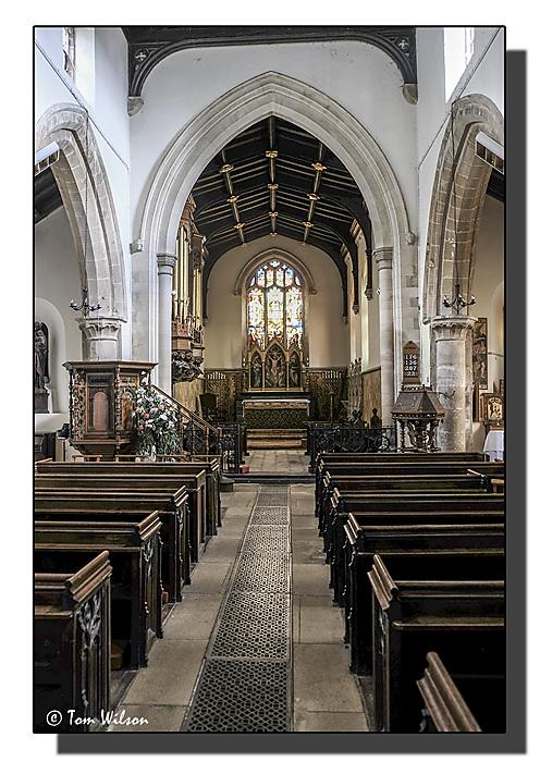 photoblog image St. Andrews, Hambledon, Interior