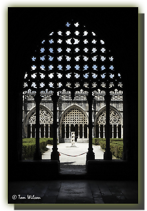 photoblog image Batalha - the cloisters