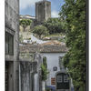 Obidos - the castle from the town