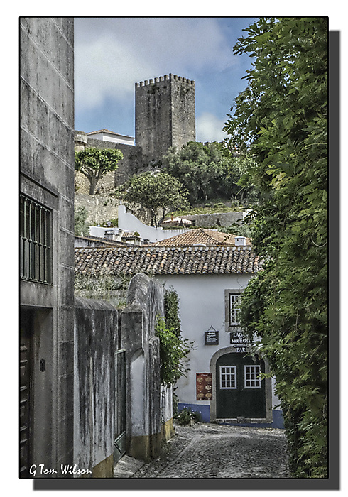photoblog image Obidos - the castle from the town