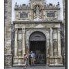 Obidos - Doorway of St Mary's Church