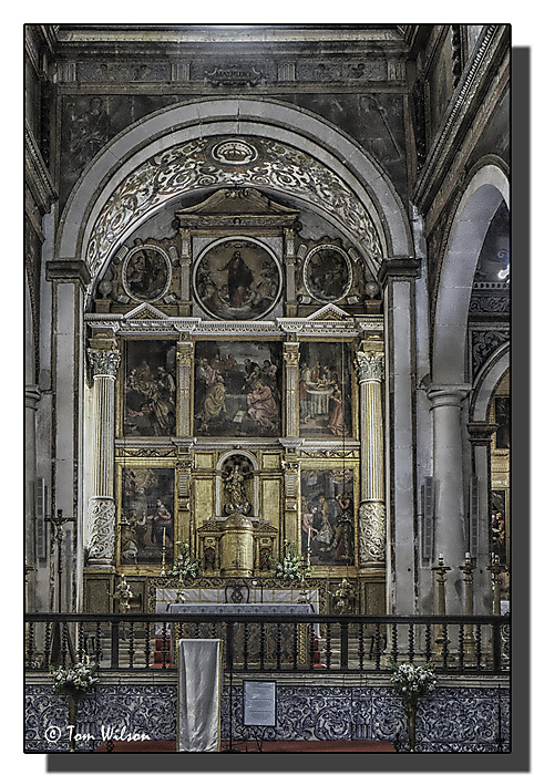 photoblog image Obidos - St. Mary's Interior