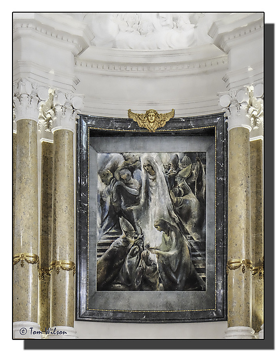photoblog image Fatima - altar painting