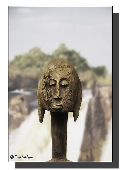 photoblog image Bacalhoa winery-African Head