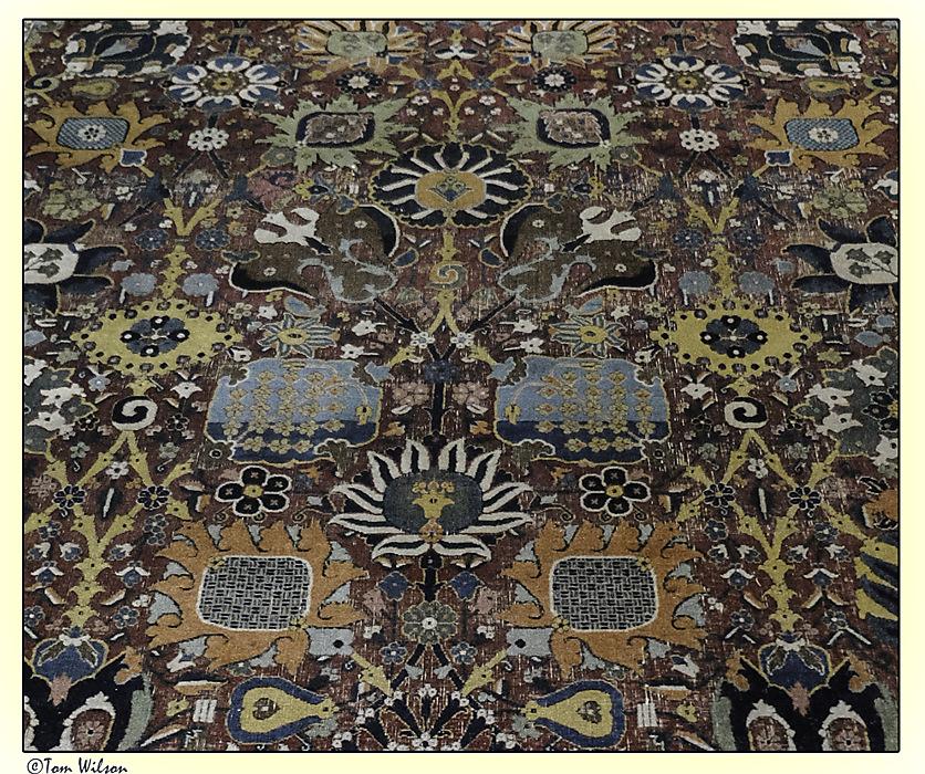 photoblog image Gulbenkian - Detail of a Persian carpet