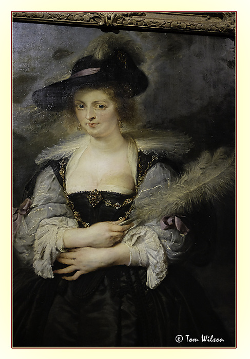 photoblog image Rubens - Portrait of Helena Fourment