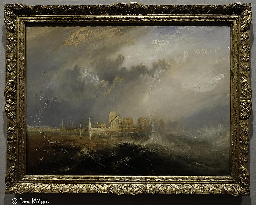 photoblog image Turner: Quillebeuf, Mouth of the Seine
