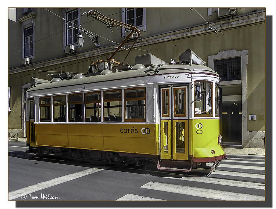 photoblog image Lisbon Tram