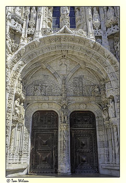 photoblog image Lisbon - Jeronimos Monastery Doorway