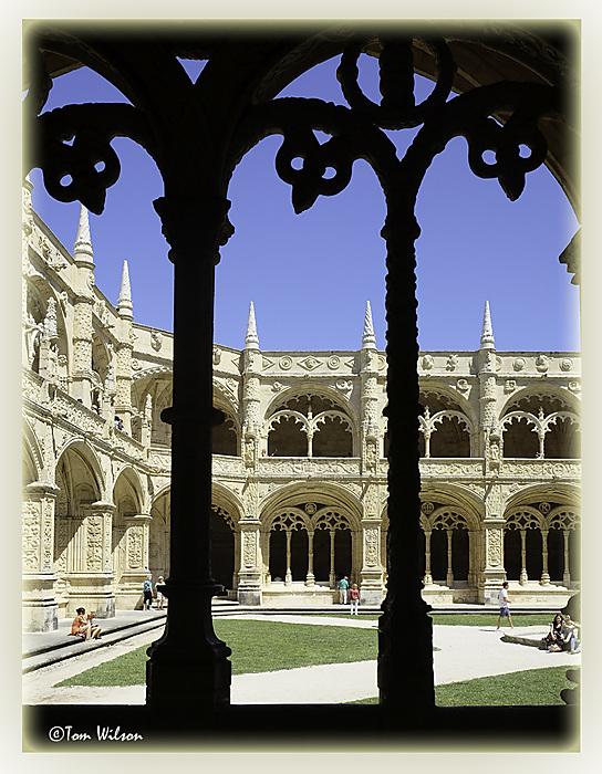 photoblog image Jeronimos Cloisters - Lisbon