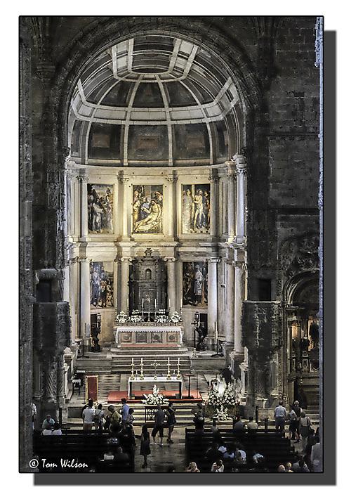 photoblog image Jeronimos Monastery - Church of Santa Maria