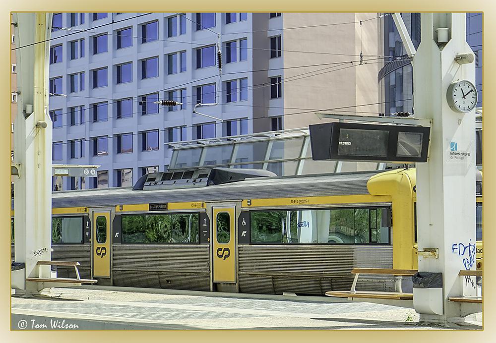 photoblog image Waiting train
