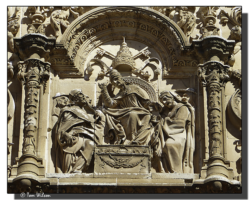photoblog image Salamanca University - facade