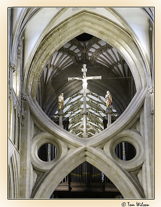 photoblog image Wells cathedral