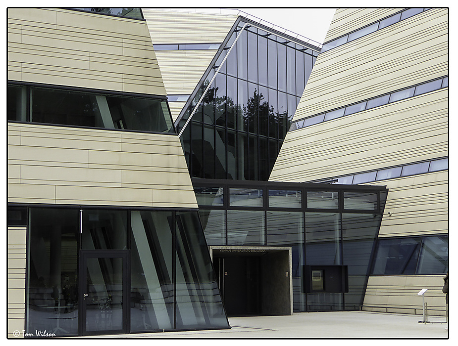 photoblog image Vilnius University Library
