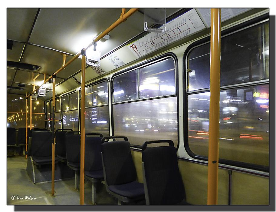 photoblog image Vilnius - the night trolley bus