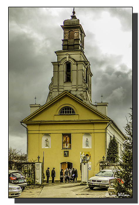 photoblog image Church of St Bartholomew, Vilnius