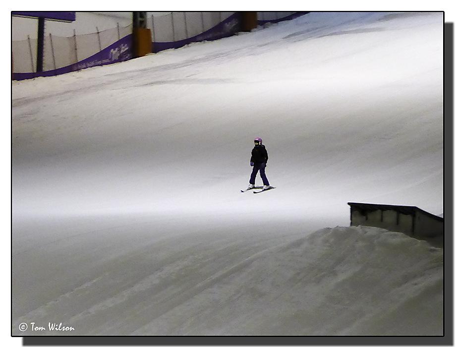 photoblog image Solitary Skier