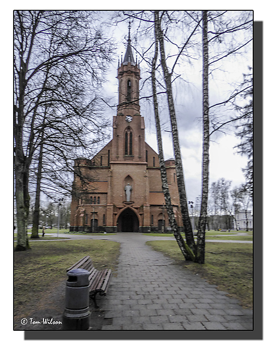 photoblog image Druskininkai - Church of St Mary of the Scapular