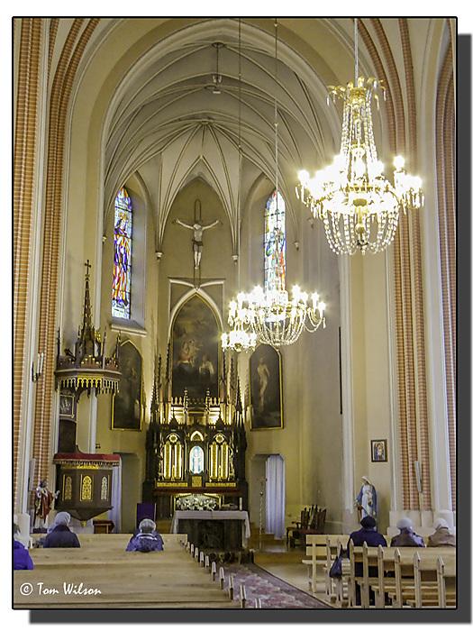 photoblog image Druskininka - Church of St Mary - Interior
