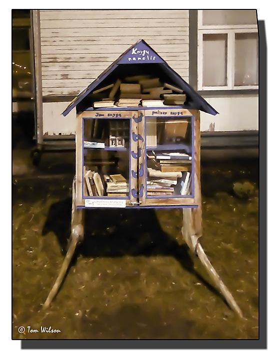 photoblog image Street Library