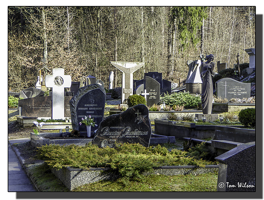 photoblog image Antakalnis Cemetery 5